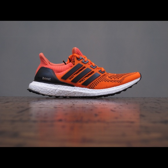063f3fd78c198 Adidas UltraBoost 1.0 Solar Orange Size 8.5 DS